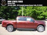 2017 Bronze Fire Ford F150 XLT SuperCrew 4x4 #120946818