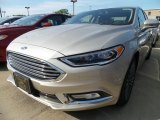 2017 White Gold Ford Fusion SE AWD #120947086