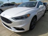 2017 White Platinum Ford Fusion Sport AWD #120947084