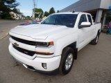 2017 Summit White Chevrolet Silverado 1500 LT Double Cab 4x4 #120946807