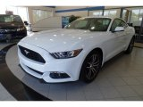 2017 Oxford White Ford Mustang EcoBoost Premium Coupe #120971865