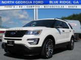 2017 White Platinum Ford Explorer Sport 4WD #120971740