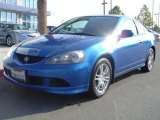 2005 Vivid Blue Pearl Acura RSX Sports Coupe #1203314