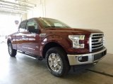 2017 Bronze Fire Ford F150 XLT SuperCab 4x4 #120990035
