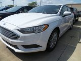 2017 Oxford White Ford Fusion SE #120990211