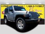 2017 Billet Silver Metallic Jeep Wrangler Sport 4x4 #120989982