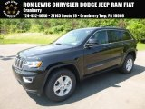 2017 Diamond Black Crystal Pearl Jeep Grand Cherokee Laredo 4x4 #120990015