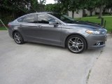 2013 Sterling Gray Metallic Ford Fusion Titanium #120990246