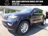 2017 True Blue Pearl Jeep Grand Cherokee Laredo 4x4 #120990146