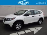 2014 White Diamond Pearl Honda CR-V LX AWD #121010490