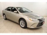 2015 Creme Brulee Mica Toyota Camry LE #121010739