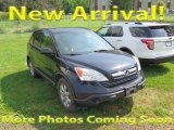 2009 Crystal Black Pearl Honda CR-V EX 4WD #121010710