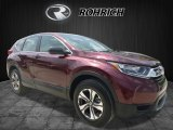 2017 Basque Red Pearl II Honda CR-V LX AWD #121036241