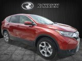 2017 Basque Red Pearl II Honda CR-V EX AWD #121036240