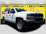 2017 Summit White Chevrolet Silverado 1500 WT Double Cab #121059102