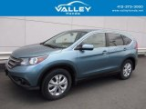 2014 Mountain Air Metallic Honda CR-V EX AWD #121059076