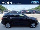 2014 Tuxedo Black Ford Explorer XLT 4WD #121059298