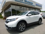 2017 White Diamond Pearl Honda CR-V EX AWD #121059288