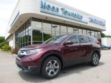 2017 Basque Red Pearl II Honda CR-V EX-L AWD #121059285