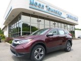 2017 Basque Red Pearl II Honda CR-V LX AWD #121059277
