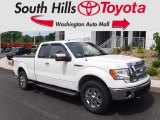 2010 Oxford White Ford F150 Lariat SuperCab 4x4 #121085609
