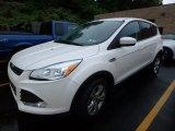 2015 White Platinum Metallic Tri-Coat Ford Escape SE 4WD #121085656