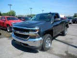 2017 Graphite Metallic Chevrolet Silverado 1500 WT Regular Cab 4x4 #121085856