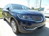 2017 Midnight Sapphire Blue Lincoln MKX Reserve AWD #121085849
