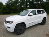 2017 Bright White Jeep Grand Cherokee Laredo 4x4 #121085716