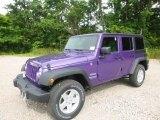 2017 Extreme Purple Jeep Wrangler Unlimited Sport 4x4 #121085714