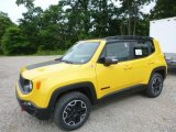 2017 Solar Yellow Jeep Renegade Trailhawk 4x4 #121085712