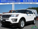2017 Oxford White Ford Explorer FWD #121085434