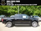 2017 Shadow Black Ford F150 XLT SuperCrew 4x4 #121085568