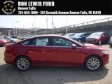 2017 Ruby Red Ford Fusion SE #121085566