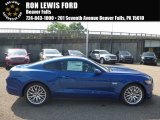 2017 Lightning Blue Ford Mustang GT Coupe #121085564