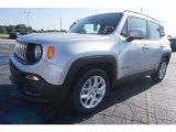 2017 Glacier Metallic Jeep Renegade Latitude #121117422