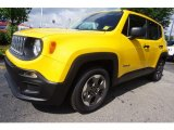 2017 Solar Yellow Jeep Renegade Sport #121117418