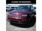 2017 Velvet Red Pearl Jeep Grand Cherokee Overland 4x4 #121132624