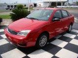 2005 Infra-Red Ford Focus ZX4 SE Sedan #12104858