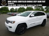 2017 Bright White Jeep Grand Cherokee Laredo 4x4 #121132495