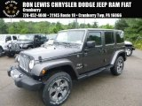 2017 Granite Crystal Metallic Jeep Wrangler Unlimited Sahara 4x4 #121132494
