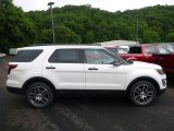 2017 White Platinum Ford Explorer Sport 4WD #121132576