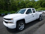 2017 Summit White Chevrolet Silverado 1500 Custom Double Cab 4x4 #121132535