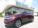 2017 Basque Red Pearl II Honda CR-V EX AWD #121132572