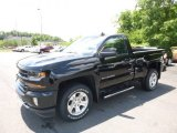 2017 Black Chevrolet Silverado 1500 LT Regular Cab 4x4 #121132533