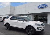 2017 White Platinum Ford Explorer XLT #121132520