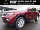 2017 Velvet Red Pearl Jeep Grand Cherokee Laredo 4x4 #121132596