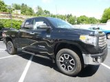 2017 Midnight Black Metallic Toyota Tundra Limited Double Cab 4x4 #121149506