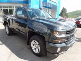 2017 Graphite Metallic Chevrolet Silverado 1500 LT Regular Cab 4x4 #121149274