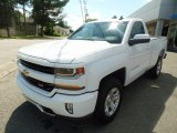 2017 Summit White Chevrolet Silverado 1500 LS Regular Cab 4x4 #121174596